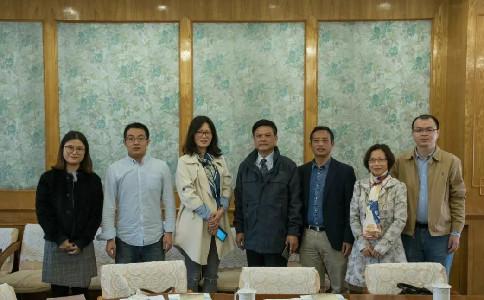 学术交流|华南师范大学柯森教授一行到访周边外交研究中心